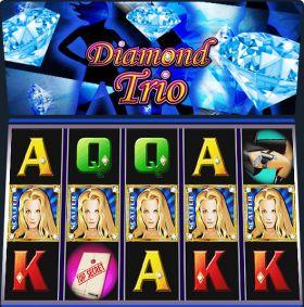 Игровой станок Diamond Trio выступать бесплатно