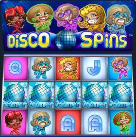 Игровой устройство Disco Spins исполнять бесплатно