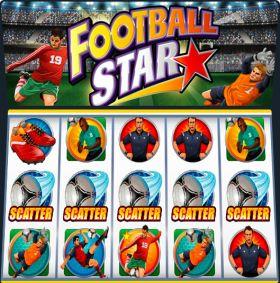 Игровой аппарат Football Star представлять бесплатно