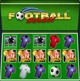 Игровой автоматическое устройство Football Rules шалить бесплатно