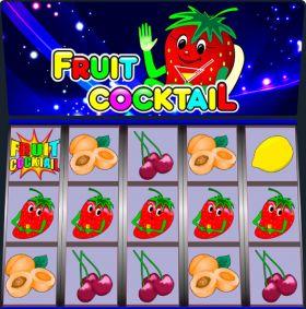 Игровой механизм Fruit Cocktail исполнять бесплатно