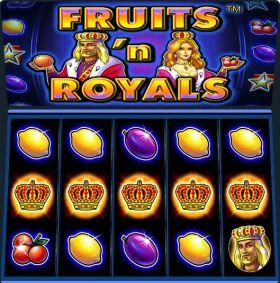 Игровой механизм Fruits and Royals выступать бесплатно