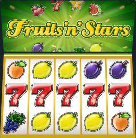 Игровой агрегат Fruits and Stars выступать бесплатно