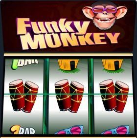 Игровой аппарат Funky Monkey резаться бесплатно