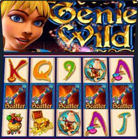 Игровой механизм Genie Wild дуться бесплатно