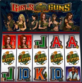 Игровой автоматический прибор Girls with Guns: Jungle Heat шалить бесплатно