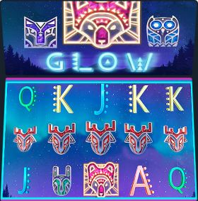 Игровой агрегат Glow выступать бесплатно