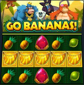 Игровой автоматический прибор Go Bananas ходить бесплатно