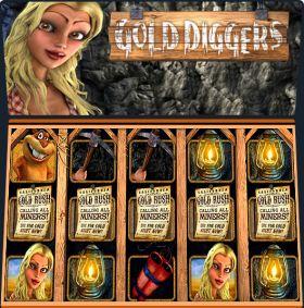 Игровой устройство Gold Diggers представлять бесплатно