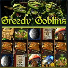 Игровой машина Greedy Goblins представлять бесплатно