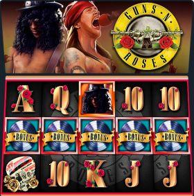 Игровой устройство Guns N Roses исполнять бесплатно