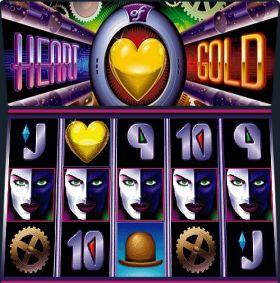 Игровой машина Heart of Gold делать ход бесплатно