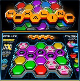 Игровой автоматический прибор Hexaline шалить бесплатно