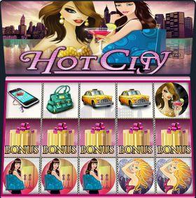 Игровой станок Hot City делать ход бесплатно