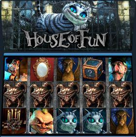 Игровой станок House of Fun исполнять бесплатно