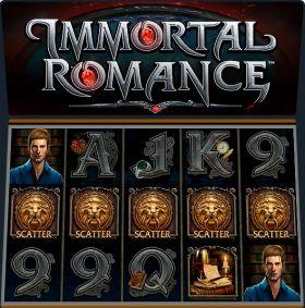 Игровой устройство Immortal Romance шалить бесплатно