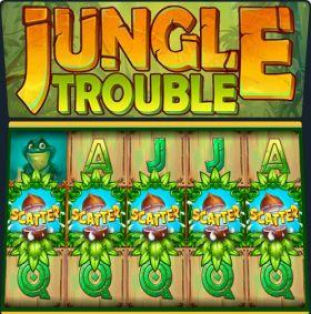 Игровой устройство Jungle Trouble дуться бесплатно
