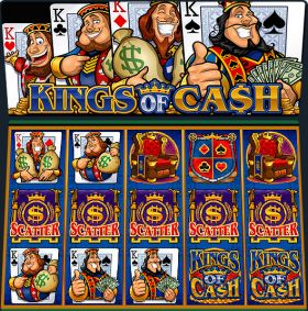 Игровой умная голова Kings of Cash выступать бесплатно