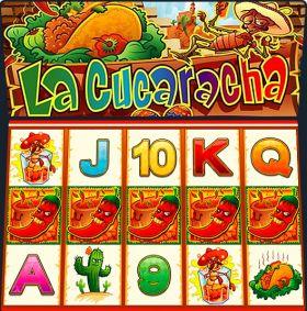 Игровой агрегат La Cucaracha ходить бесплатно