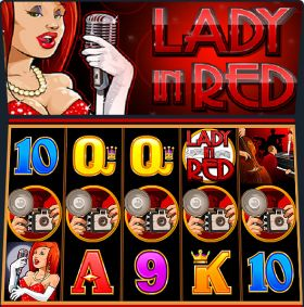 Игровой агрегат Lady in Red шалить бесплатно