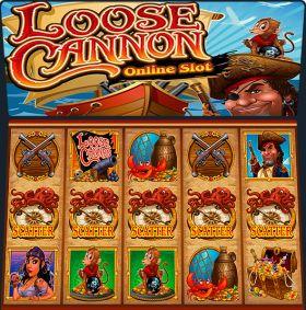 Игровой агрегат Loose Cannon дуться бесплатно