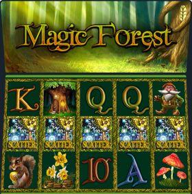 Игровой устройство Magic Forest делать ход бесплатно