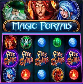 Игровой робот Magic Portals выступать бесплатно