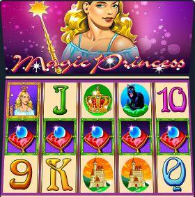 Игровой аппарат Magic Princess дуться бесплатно