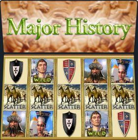 Игровой машина Major History представлять бесплатно