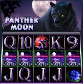 Игровой машина Panther Moon выступать бесплатно