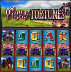 Игровой станок Piggy Fortunes шалить бесплатно