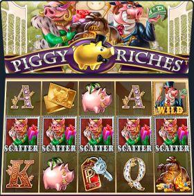 Игровой агрегат Piggy Riches представлять бесплатно