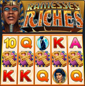 Игровой устройство Ramesses Riches выступать бесплатно