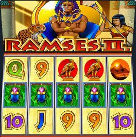Игровой аппарат Ramses II представлять бесплатно