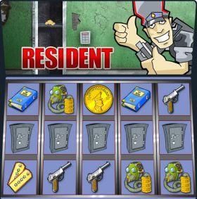 Игровой автоматическое устройство Resident ходить бесплатно