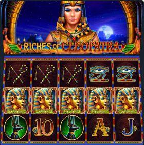 Игровой аппарат Riches of Cleopatra выступать бесплатно