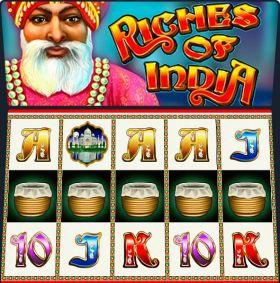Игровой робот Riches of India выступать бесплатно