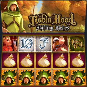 Игровой робот Robin Hood: Shifting Riches делать ход бесплатно