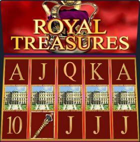 Игровой устройство Royal Treasures выступать бесплатно