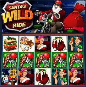 Игровой станок Santas Wild Ride выступать бесплатно