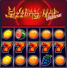 Игровой станок Sizzling Hot Deluxe представлять бесплатно
