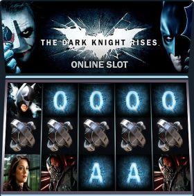 Игровой автоматический прибор The Dark Knight Rises выступать бесплатно