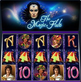 Игровой автоматический прибор The Magic Flute делать ход бесплатно