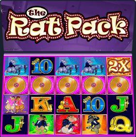 Игровой автоматический прибор The Rat Pack представлять бесплатно