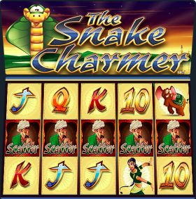 Игровой устройство THE SNAKE CHARMER резаться бесплатно