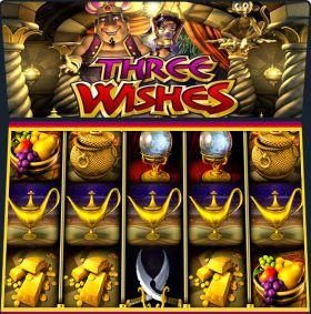 Игровой станок Three Wishes ходить бесплатно
