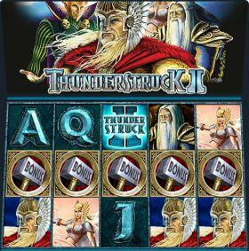 Игровой автоматическое устройство Thunderstruck 0 выступать бесплатно