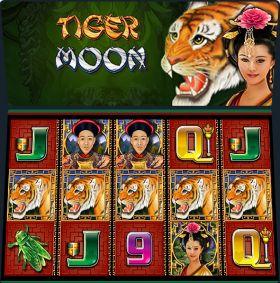 Игровой механизм Tiger Moon дуться бесплатно