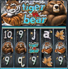 Игровой аппарат Tiger vs Bear выступать бесплатно