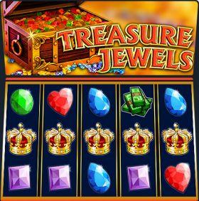 Игровой робот Treasure Jewels исполнять бесплатно